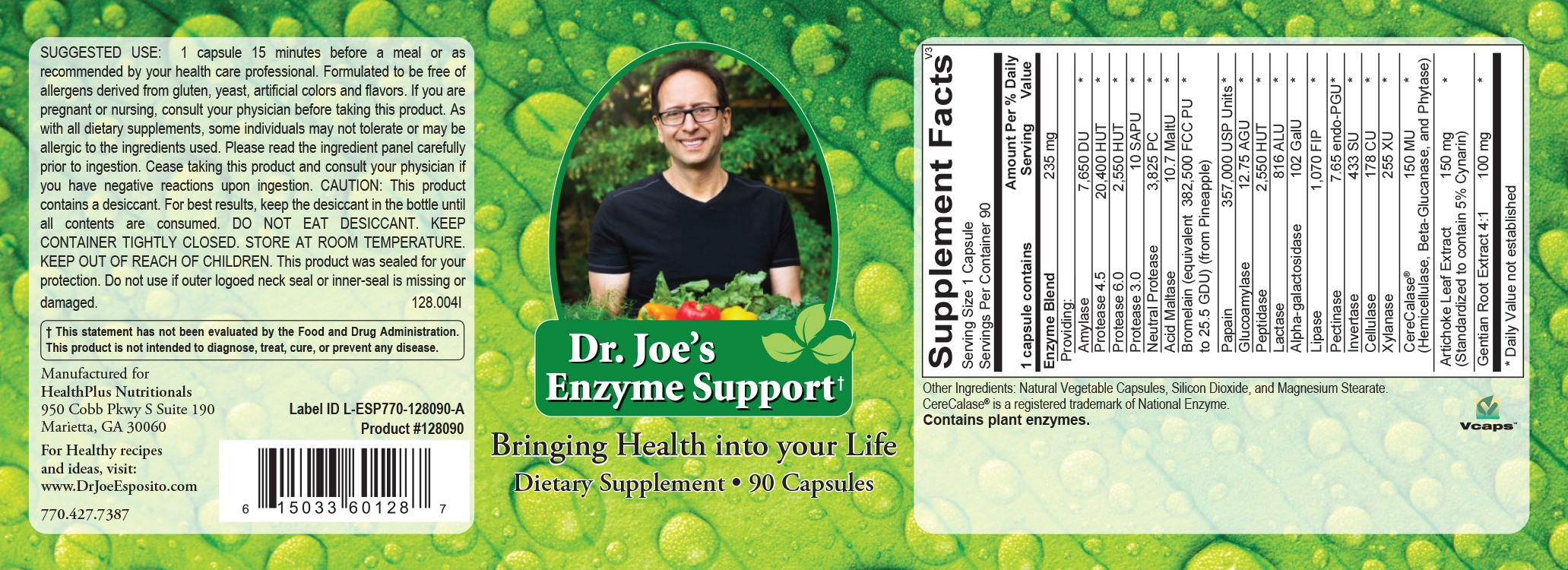 Enzyme Support Supplement