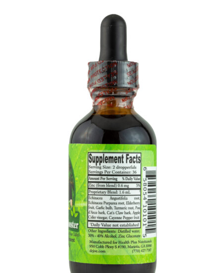 Wellness Booster - 2 oz - right